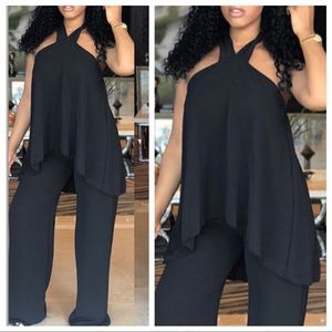 Pants - Halter Jumpsuit